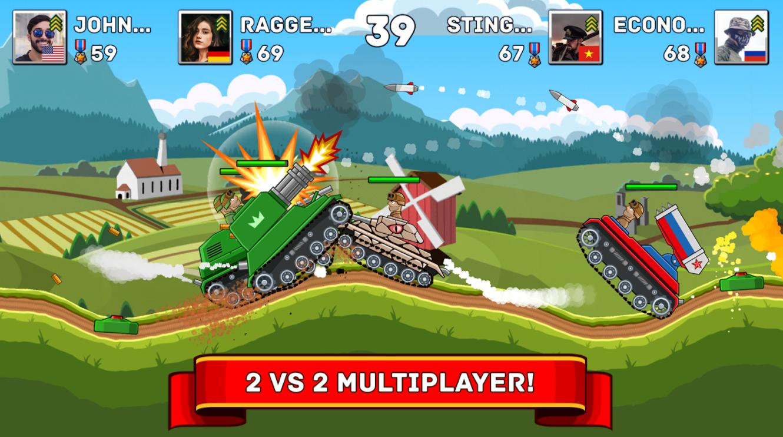 Hills of Steel Game APK Download