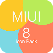 MIUI 8 Icon Pack 2.0 APK Patched