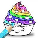 Cupcakes Coloring Book Glitter APK Download