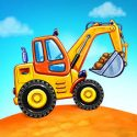 Truck games for kids - build a house, car wash APK Download