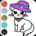 Cute Kitty Coloring Book Glitter APK Download