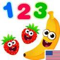 Funny Food 123! Kids Number Games for Toddlers APK Download