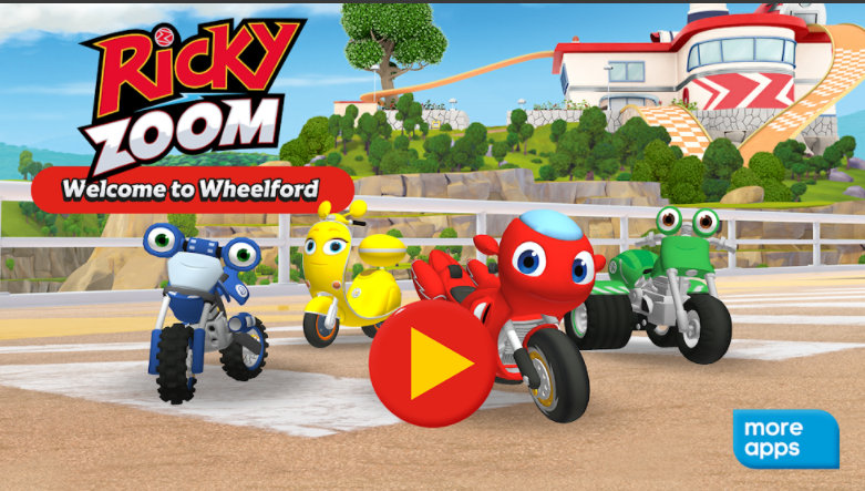 Make room for the groom! Explore the world Whirlford of pre-school TV Ricky Zoom. Teaching friendship and teamwork and rescuing the zoomstick bike, this is a coveted show for your little ones. The two wheels of possibility are endless!  In this app you can meet the characters, check out their gadgets and see the amazing world of Whilford. Kids filled with fun mini games and interactive playgrounds can learn the skills needed to be a bike body. Another bike for everyone!  Features Play lots of exciting exciting mini games. Meet the Ricky, Loop, Scutio, DJ, Tutt, Maxwell and Zoom families. Check out Max Maxwell's Garage and Rescue Pod. Wash Ikes bikes - grab a sponge and pop the bubbles! Matching includes matching and sorting games, designed to develop the cognitive abilities of the pre-schooler. The gameplay encourages social and emotional development because you help bike friends. Difficulty Learn and progress by choosing your problem level. Interact with all bikes, check out their gadgets and play. You go to each mini-play collection points. Beware of obstacles to slow you down! Celebrate every victory with every bike body! Play offline, no wifi or data required.  Safe and ad-free The Ricky Zoom app gives parents peace of mind: Ch Age-appropriate materials for pre-coolers Safe A safe and secure environment: no ads!  Rich Zoom Meet Ricky Zoom! Built for speed, he is a small red rescue bike who shares his bike experience with Buds Loop, Scootio and DJ. Together they speed up around the sports track, try new stunts in the park and race to the rescue! Join Ricky and his friends as they zoom in on each adventure!  Entertainment is one Entertainment One (Eon) is a market leader in creating, distributing and marketing award-winning children's content that connects families worldwide. Inspired by smiles with the world's most beloved characters, Eon takes dynamic brands from the screen to the store.  Support For best performance, we recommend Android 5 and above.  Contact Feedback or questions? We'd love to hear from you. Email us at EOneFamilyapps@entonegroup.com  More info Privacy Policy: http://www.rickyzoom.com/privacy-policy/ Terms of use: http://www.rickyzoom.com/terms-and-conditions/ More info: http://www.rickyzoom.com/apps/welcome-to-wheelford/