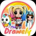 Drawely - How To Draw Cute Girls and Coloring Book APK Download