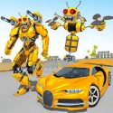 Bee Robot Car Transformation Game: Robot Car Games APK Download