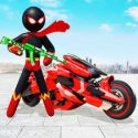 Stickman Moto Bike Hero: Crime City Superhero Game APK Download