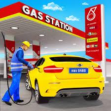 Gas Station Car Driving Simulator Car Parking Game APK download