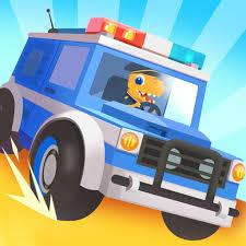 Dinosaur Police Car - Police Chase Games for Kids APK download