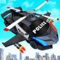 Flying Police Helicopter Car Transform Robot Games APK Download