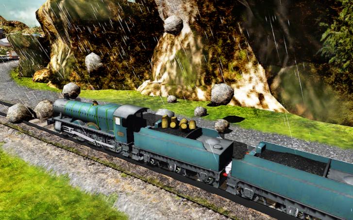 Uphill Train Simulator 3D APK download