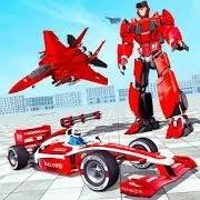 Formula Car Robot Games - Air Jet Robot Transform APK Download