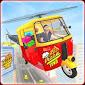 Flying Tuk Tuk Auto Rickshaw Pizza Delivery Games APK Download