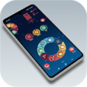Themes Pro v4.0 APK in compact high-tech launcher sci-fi style