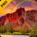 Red Mountain Pro Live Wallpaper V2.4.0 APP provided